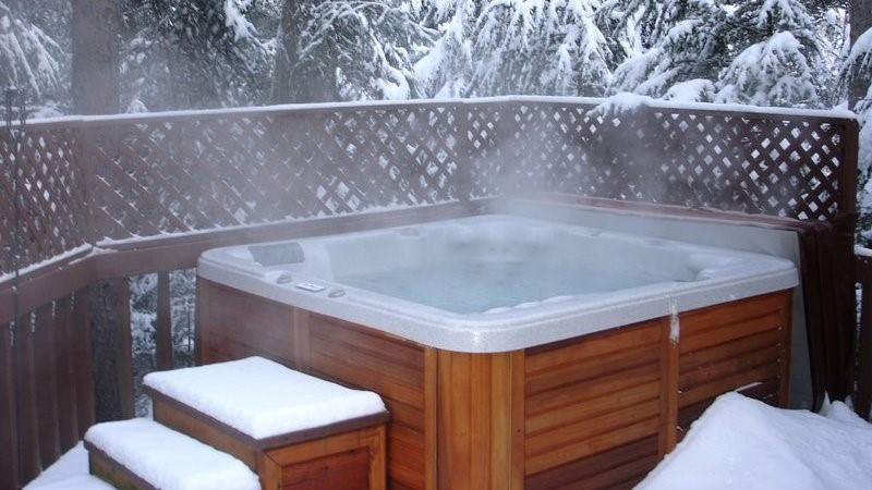 Hot Tub Snow, Best Garden, Home And DIY Tips