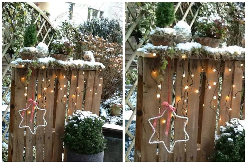 Christmas Wooden Pallet, Best Garden, Home And DIY Tips