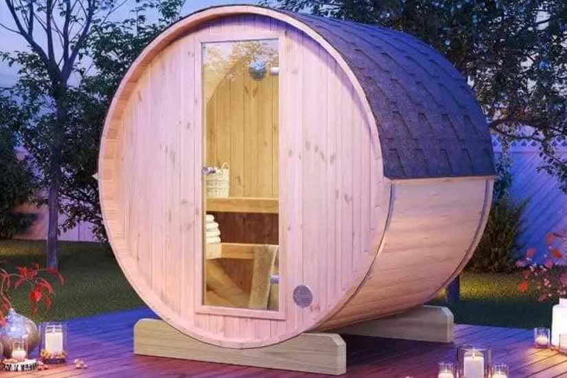 Barrel Sauna 1, Best Garden, Home And DIY Tips
