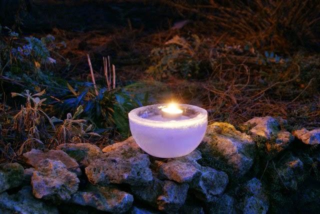Ice Lanterns, Best Garden, Home And DIY Tips