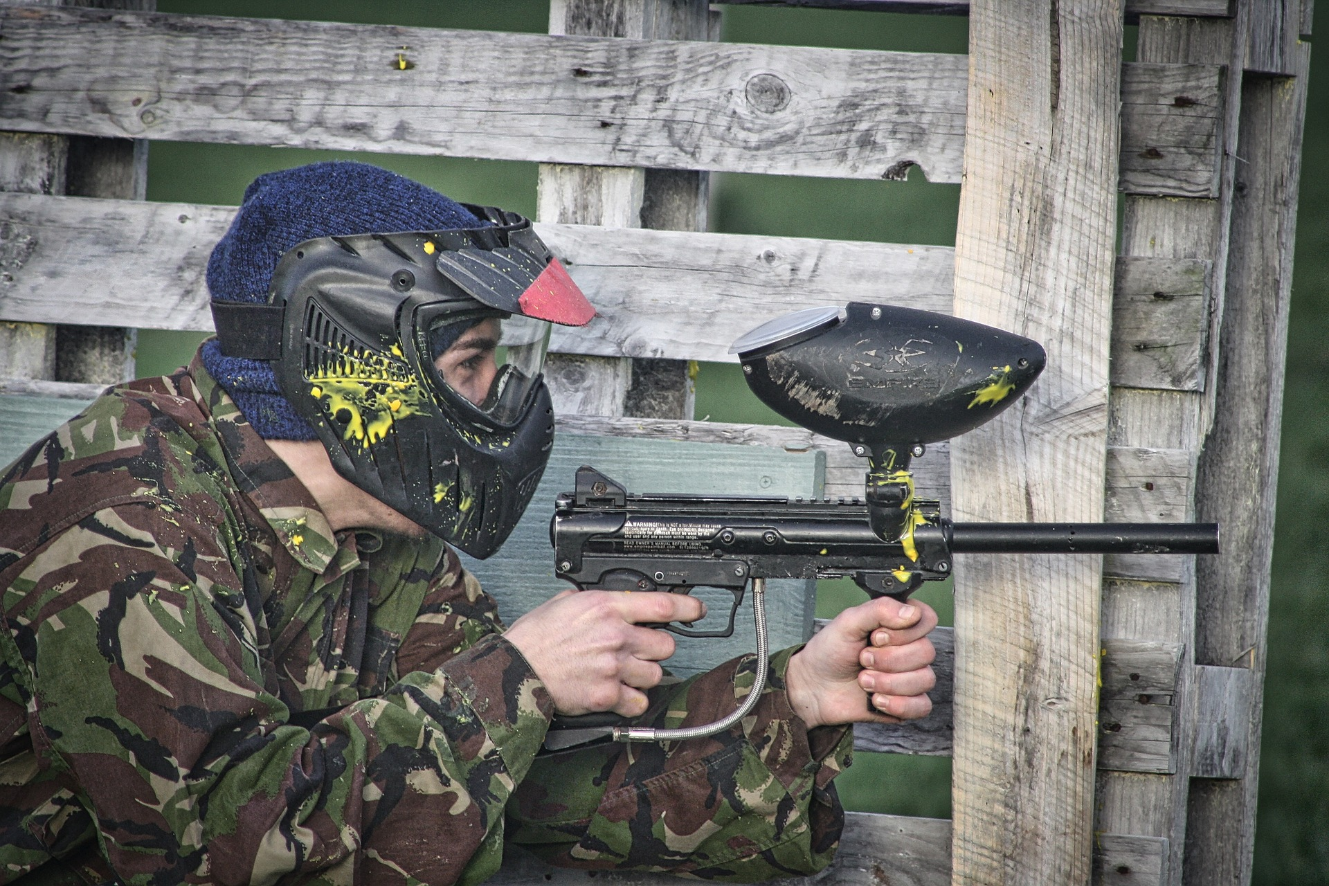 , Paintball in the backyard, Best Garden, Home And DIY Tips