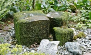 , Install source stone in the garden, Best Garden, Home And DIY Tips