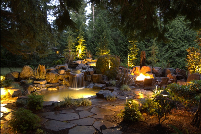 , Light Effects In The Backyard, Best Garden, Home And DIY Tips