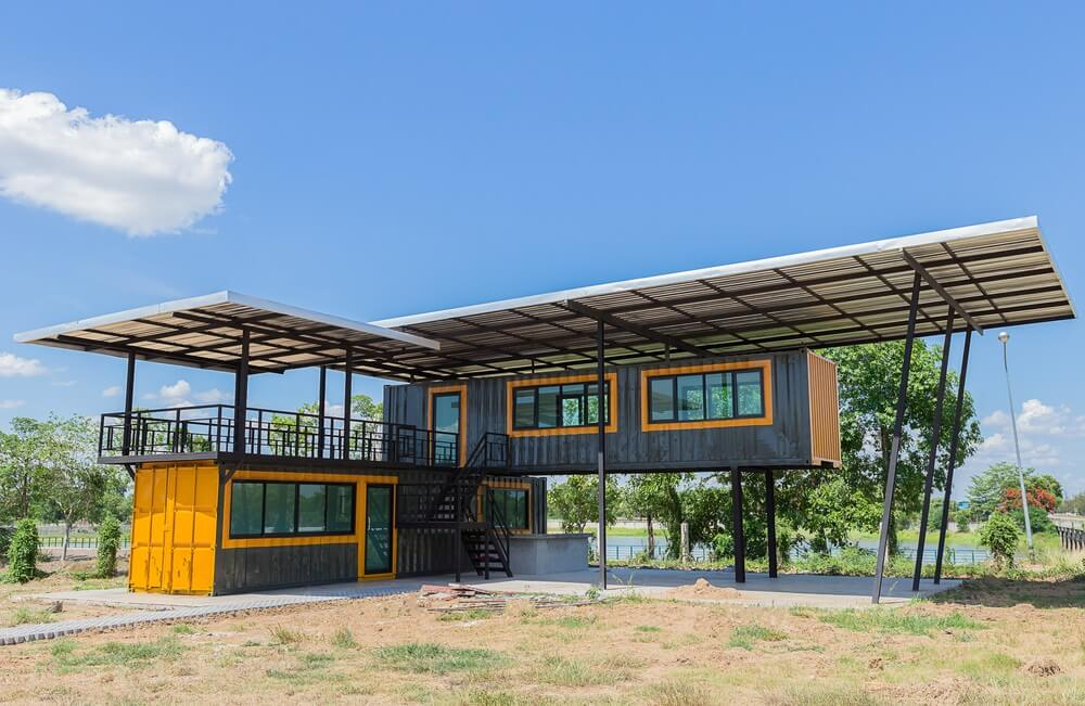 Shipping Container House 2, Best Garden, Home And DIY Tips