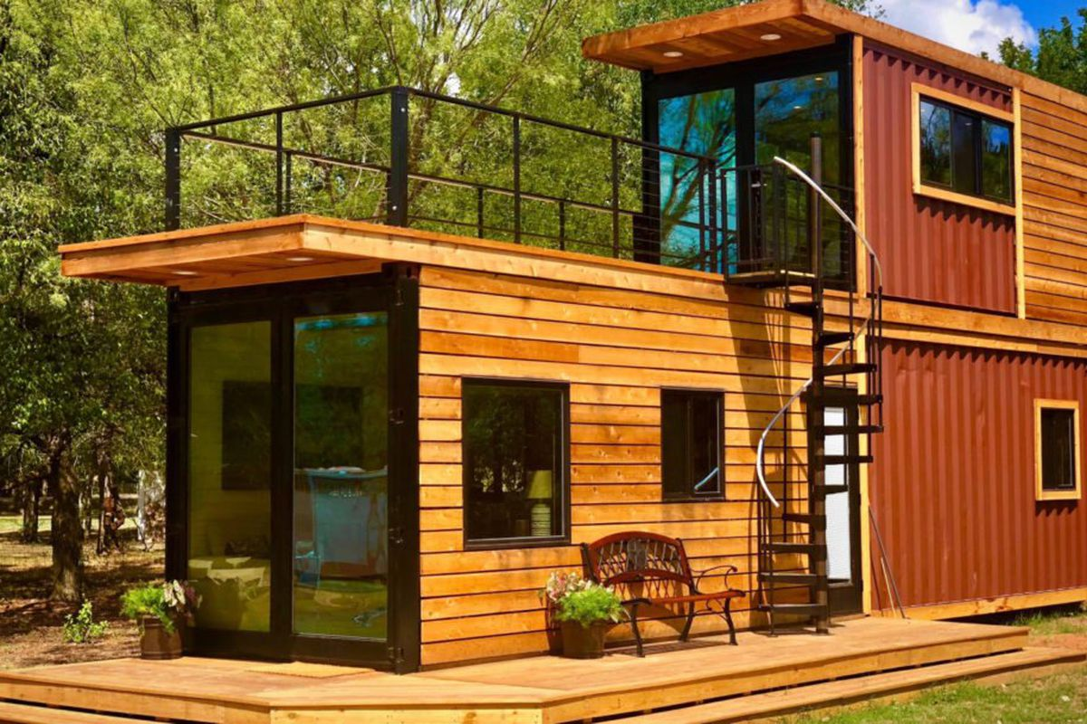 Shipping Container House: This is how you convert a shipping container into a tiny house