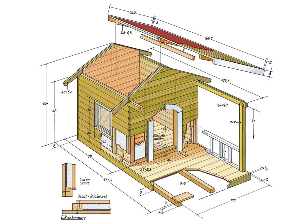 , Build your own dog house: a villa for four-legged friends, Best Garden, Home And DIY Tips