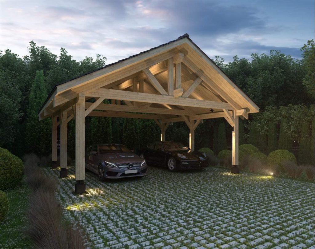 Wooden Carport 1024x810, Best Garden, Home And DIY Tips