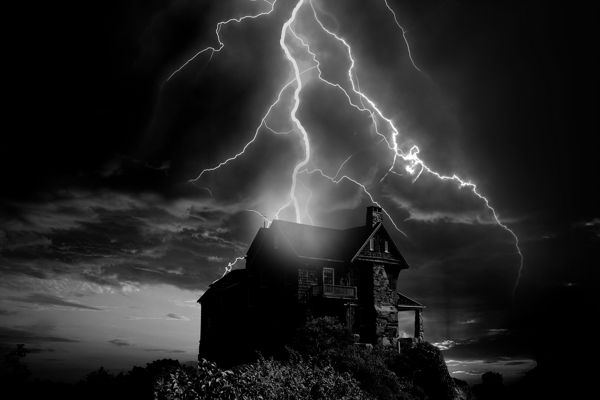 Lightning protection for the house